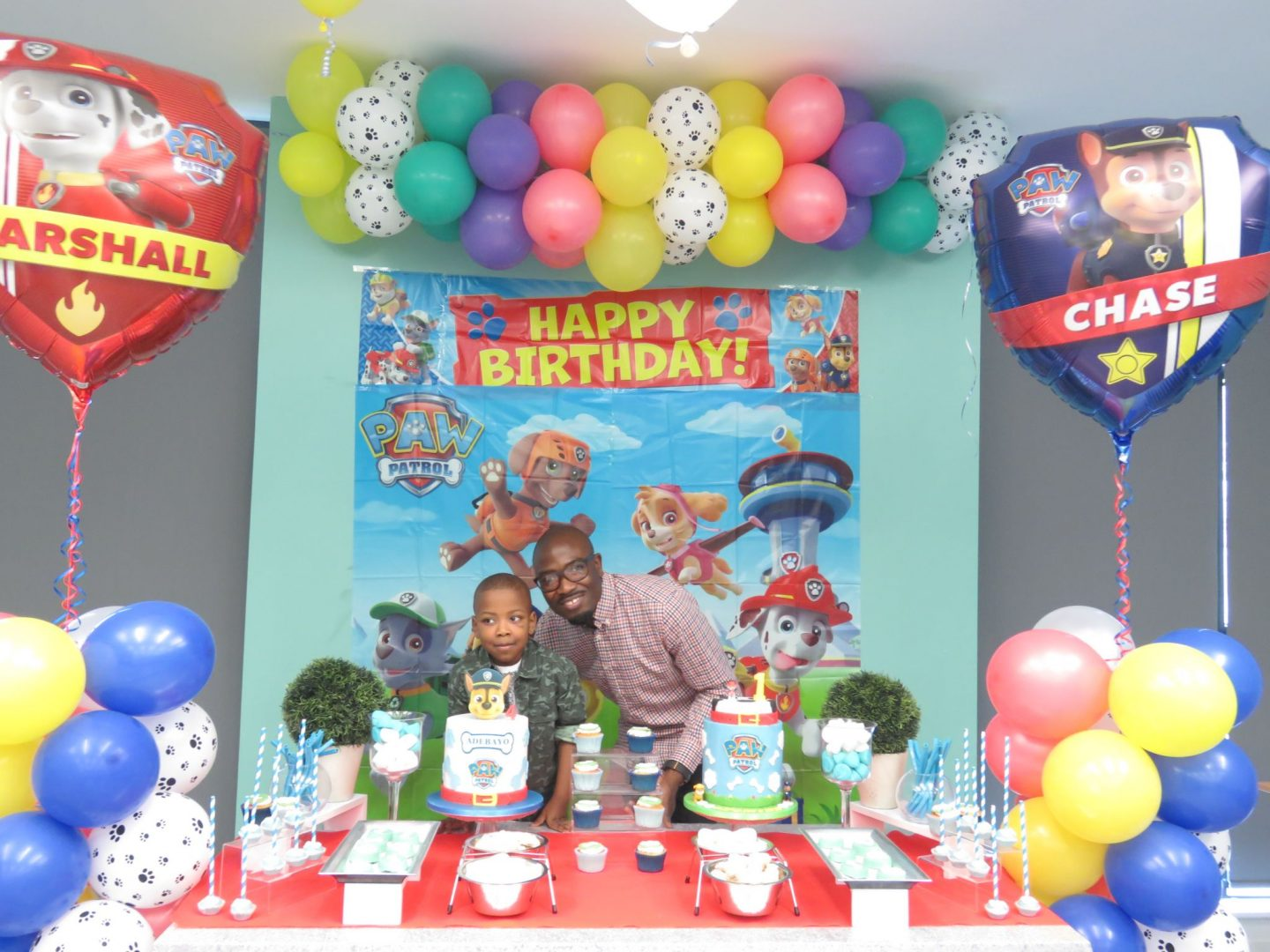 A Paw Patrol Themed Birthday Party