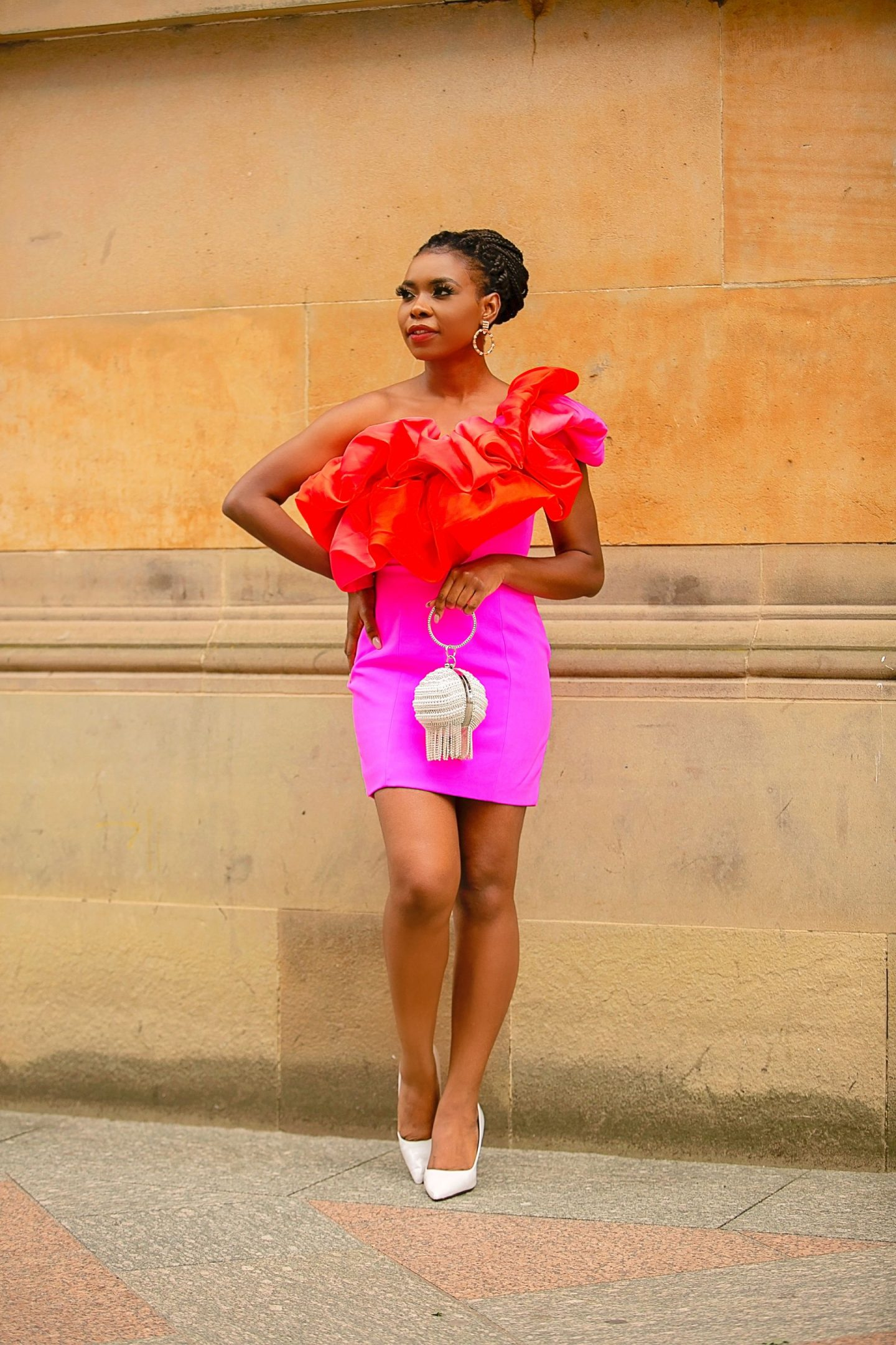 A Pink & Ombre Dress